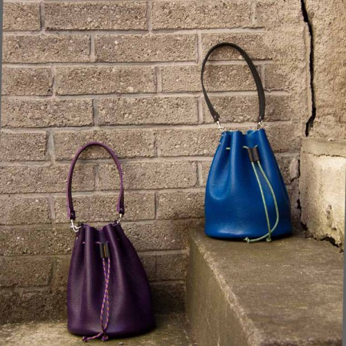 frau hitt - bucket bag | leder